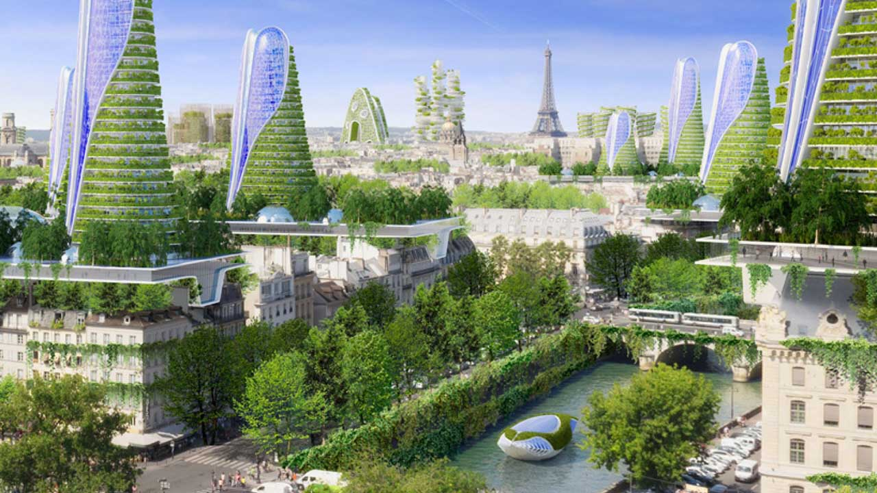Smart City, Paris 2050